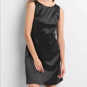 Gap Satin Fit and Flare Dress